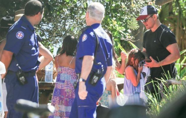 The sting had been so bad that paramedics had to be called. Luckily his daughter was okay. Source: Media-Mode