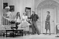 """<p>In the late 1970s, White appeared on <em>The Carol Burnett Show</em> several times. She <a href=""""http://www.pbs.org/wnet/americanmasters/podcast/betty-white-carol-burnett/"""" rel=""""nofollow noopener"""" target=""""_blank"""" data-ylk=""""slk:later said"""" class=""""link rapid-noclick-resp"""">later said</a>, """"When Carol called me and said would I do her show, I said, 'well, are you sure?' Then she sent me the script and that sort of thing. And I thanked her profusely and hung up, I thought, 'I'm gonna do <em>The Carol Burnett Show</em>!!'"""" </p>"""