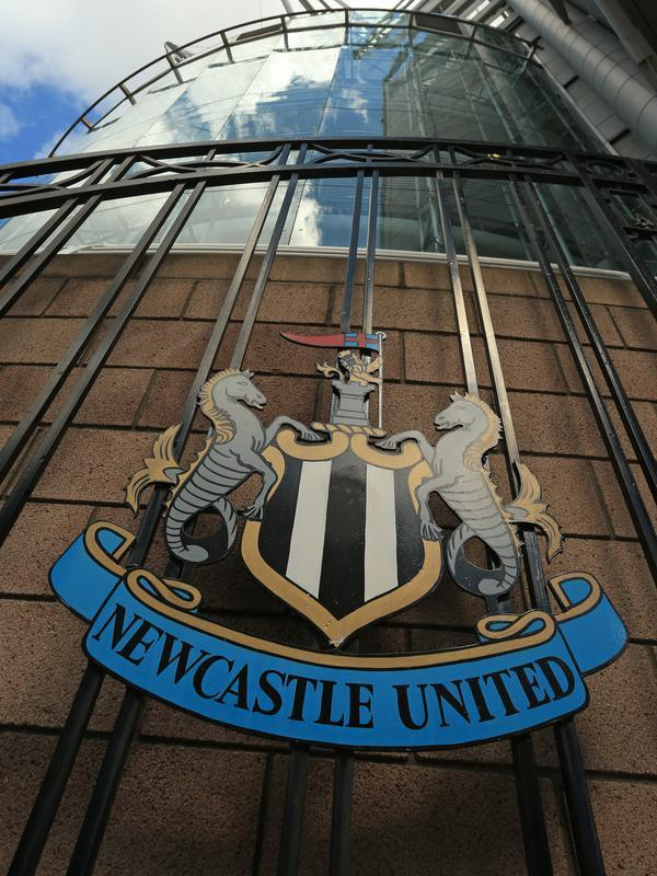 Newcastle United. (AFP/Lindsey Parnaby)