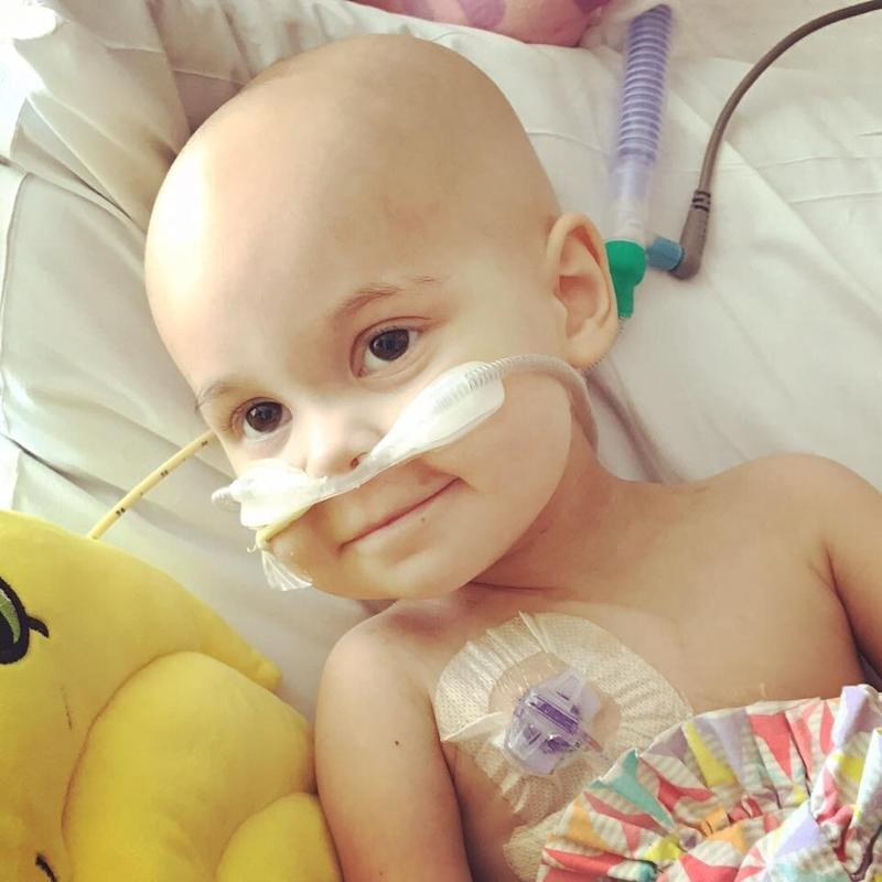 Sophie was diagnosedwith T-cell lymphomain May. (Sophie The Brave)
