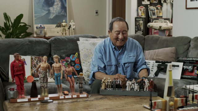 Toy designer Dave Okada in <em>The Toys That Made Us</em>. (Photo: Netflix)