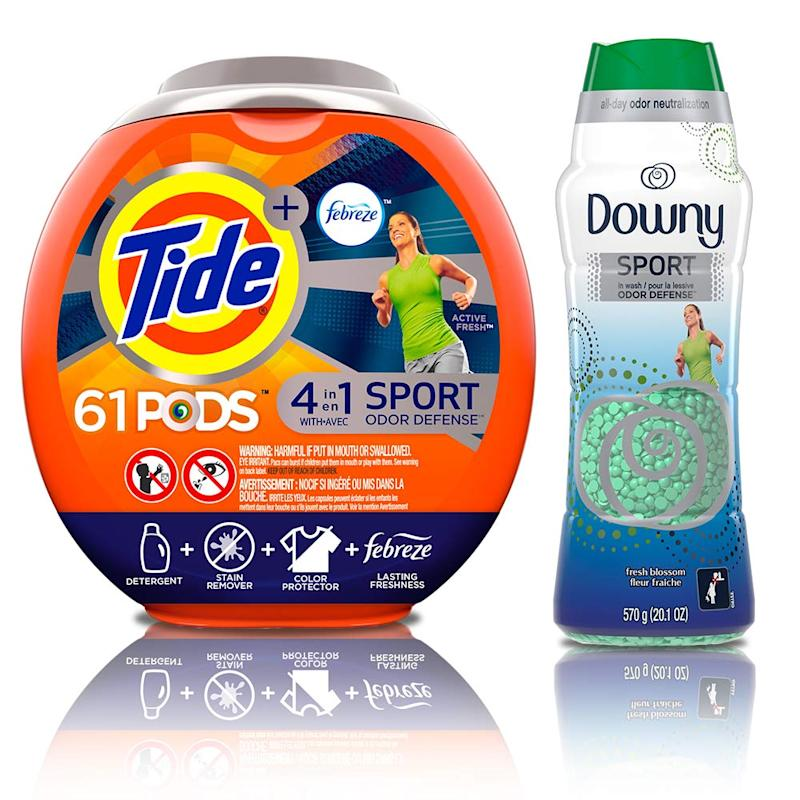 Tide PODS Plus Febreze Sport Odor Defense 4 in 1 HE Turbo Laundry Detergent Pacs. (Photo: Amazon)