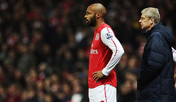 Premier League: Medien: Wenger Sportdirektor, Henry Trainer?