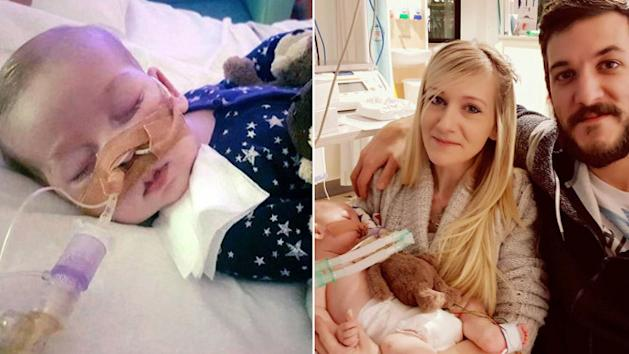 Charlie Gard will be buried with his toy monkeys