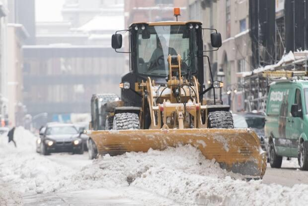 Montreal snow-removal operations will face new challenges during pandemic, mayor says