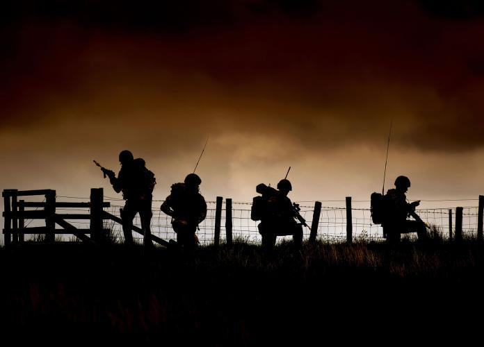 <p>Royal Marine Commandos conduct exercises (Will Haigh/MoD) </p>