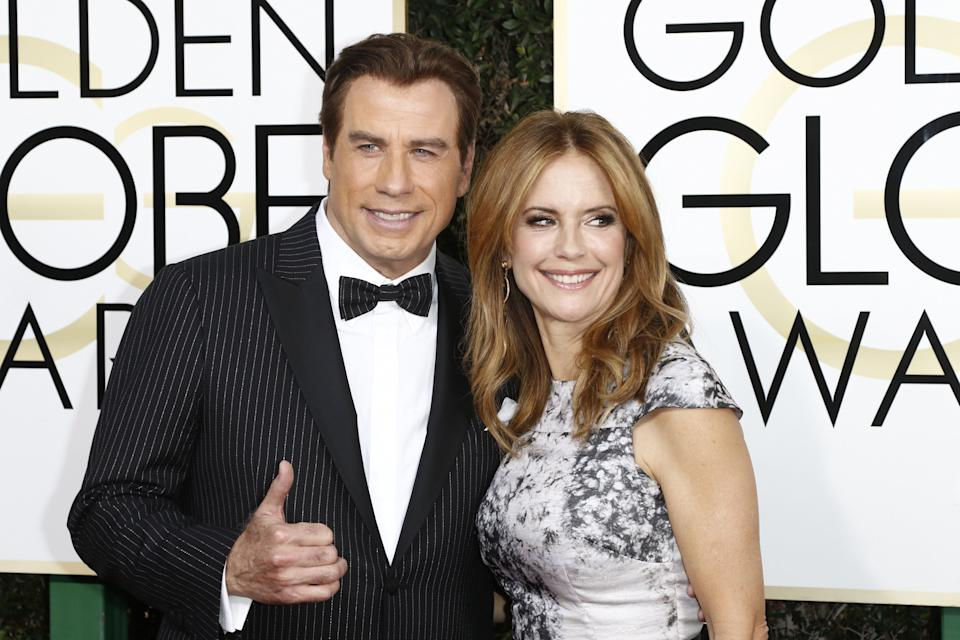 John Travolta and Kelly Preston (Photo: picture alliance via Getty Images)