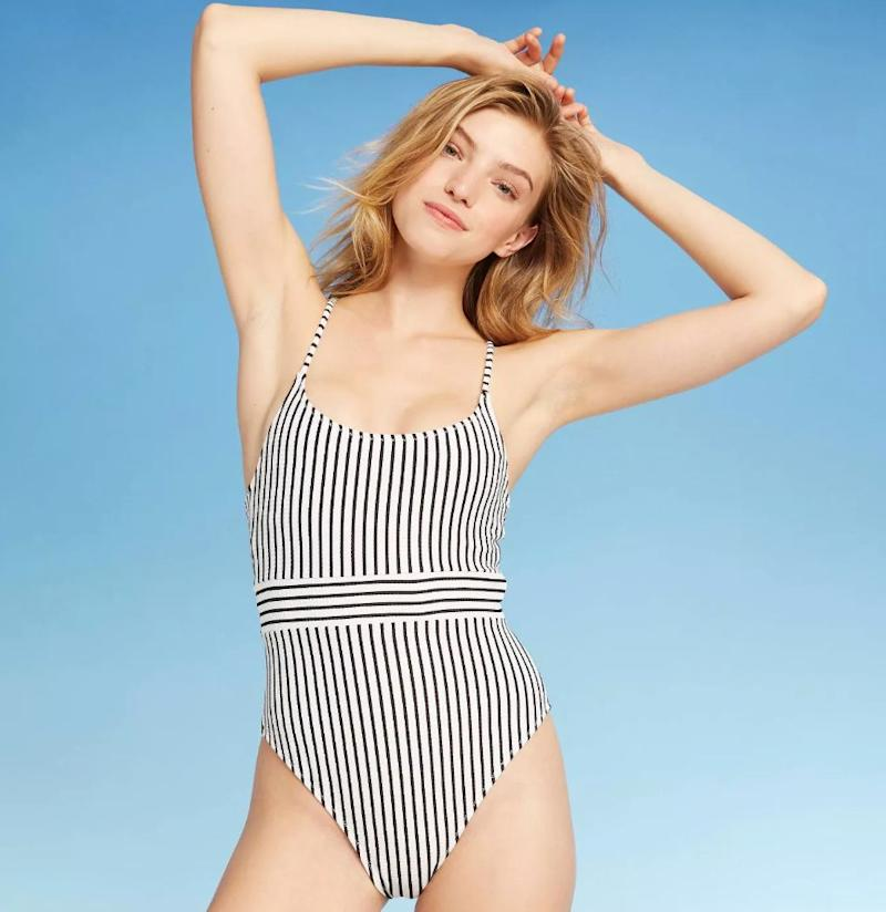"<a href=""https://fave.co/2SYDau8"" target=""_blank"" rel=""noopener noreferrer"">This swimsuit is $40 and qualifies for the BOGO half-off deal</a>."