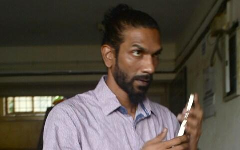 Samson D'Souza had previously been acquitted of the crime along with another man - Credit: Indranil Mukherjee/AFP