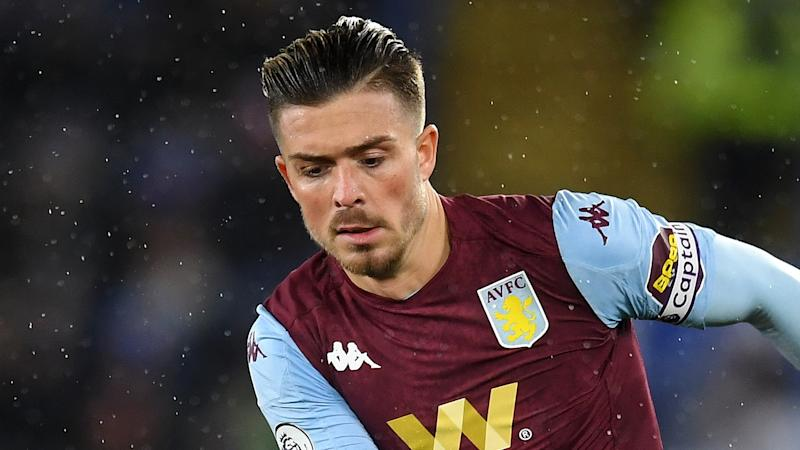 'I expect Grealish will get drunk with me tonight!' - Smith silent on midfielder's future after Villa escape drop