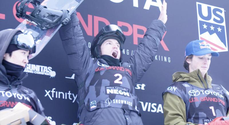 Shaun White soars to halfpipe glory