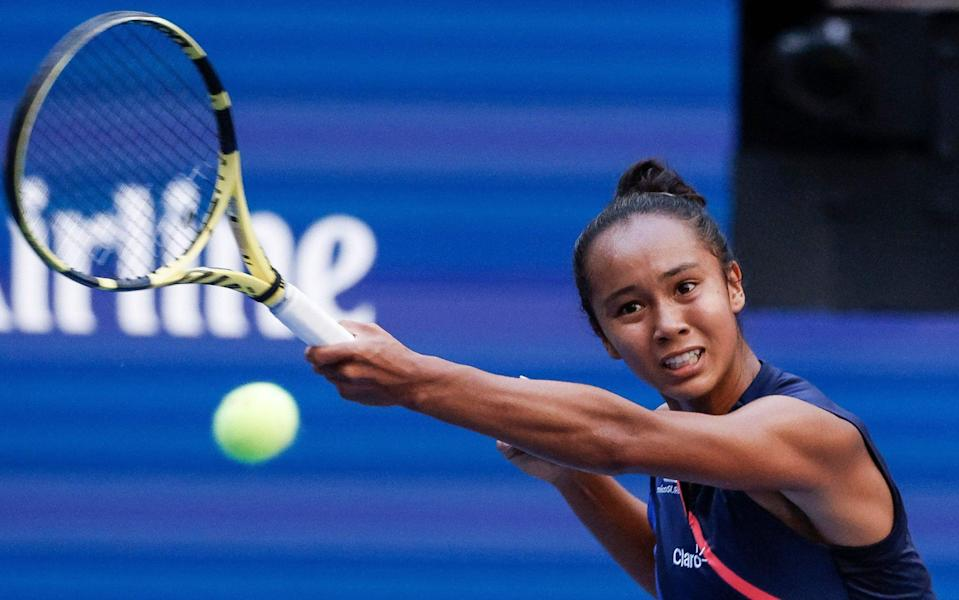 Fernandez has proved to be more than a match for some of the biggest names in women's tennis over the past two weeks in New York - SHUTTERSTOCK