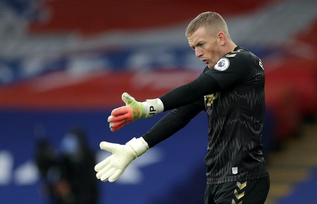 Jordan Pickford's position as England's first-choice goalkeeper has come into question