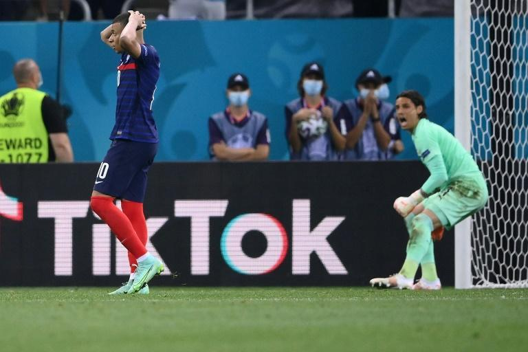 Kylian Mbappe's penalty miss sent France packing from Euro 2020