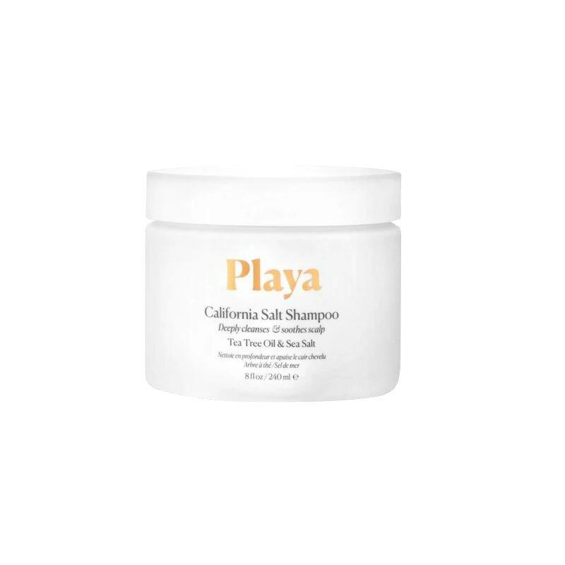<p>A mind-blowing fact: The key to a ridiculously good hair day is a healthy scalp and not the shampoo or styling products you use. That's where a weekly scalp scrub comes in. Playa's treatment is formulated with California sea salt and tea tree oil to gently exfoliate and rebalance the scalp's natural oils. It's also safe to use across all hair types and textures. </p>