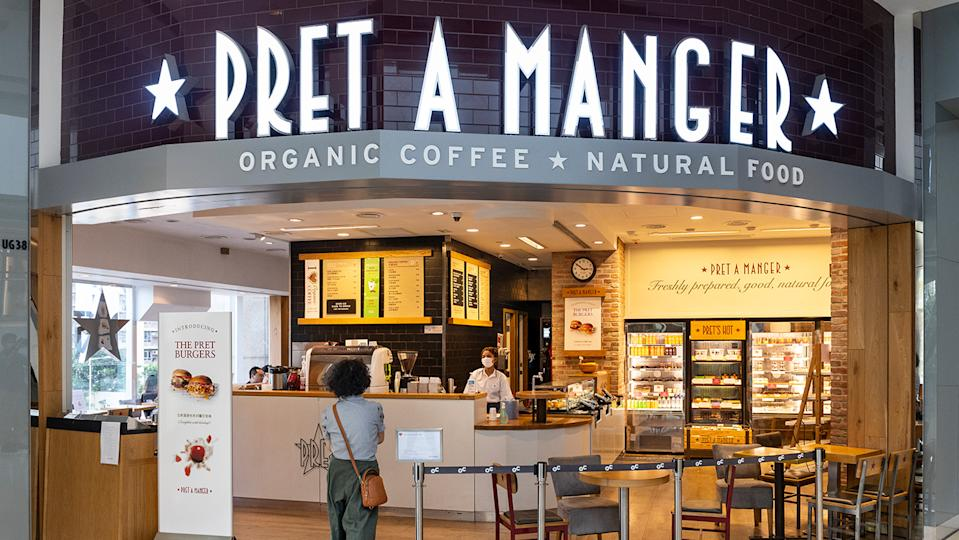 Pret A Manger is just one of many restaurant chains that has struggled during the pandemic (Image: Getty Images)