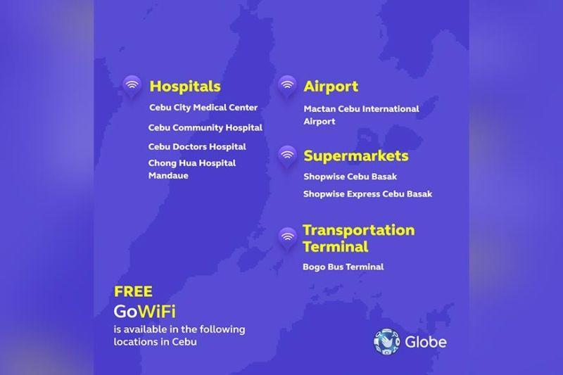 GoWiFi expands free internet connection in Cebu