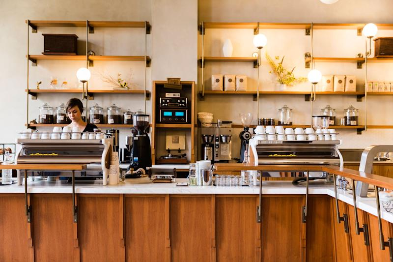 The San Francisco outpost of Sightglass, which just opened a second location in L.A.