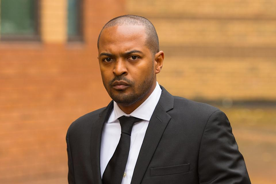 Actor Noel Clarke arriving at Hammersmith Magistrate's Court, London, where actor Adam Deacon is accused of posting abusive and threatening messages on social media relating to him.