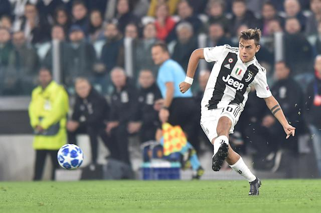 Dybala missed one of Juve's several gilt-edged chances