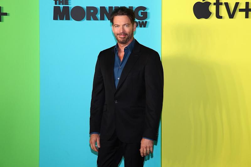 Harry Connick Jr. says Frank Sinatra kissed his then girlfriend and now wife.