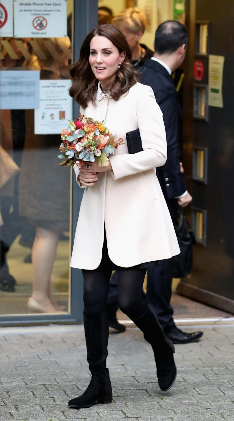 Kate Middleton and Prince William are expecting their third child in April next year. Photo: Getty Images
