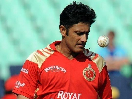 Anil Kumble Enter caption