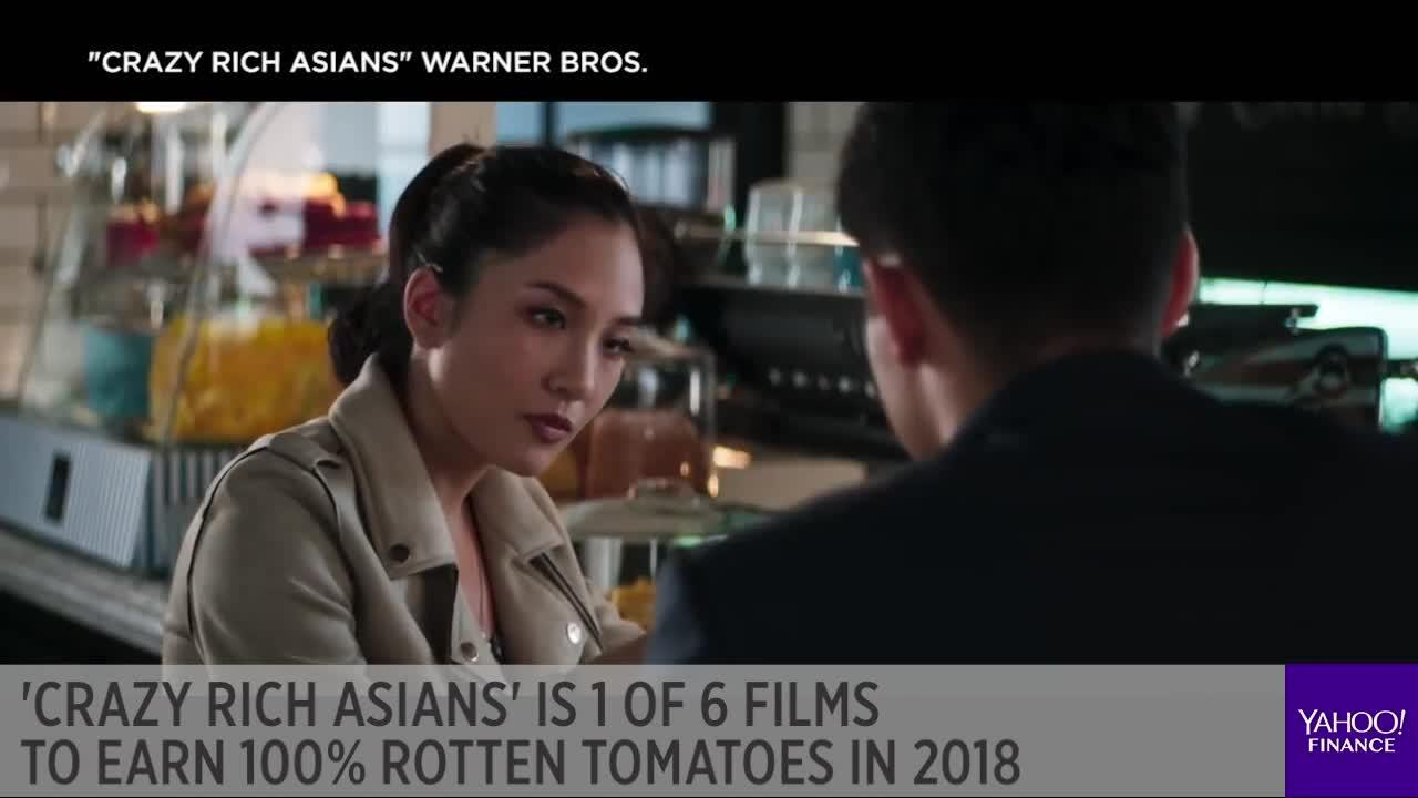 Crazy Rich Asians\' is 1 of 6 films to earn 100% Rotten Tomatoes in ...