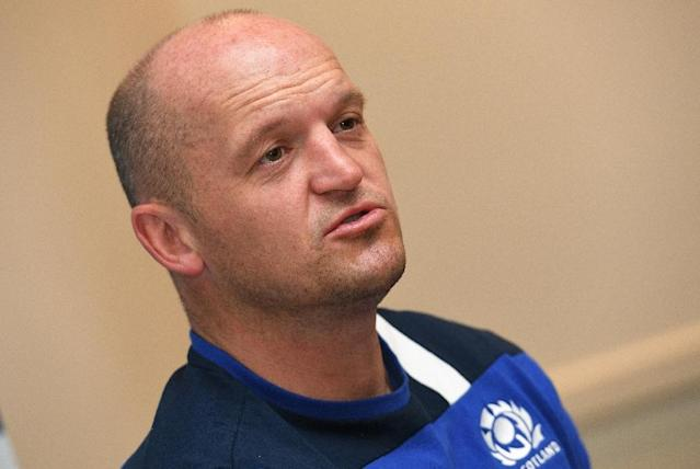 Scotland rugby union coach Gregor Townsend (AFP Photo/WILLIAM WEST)
