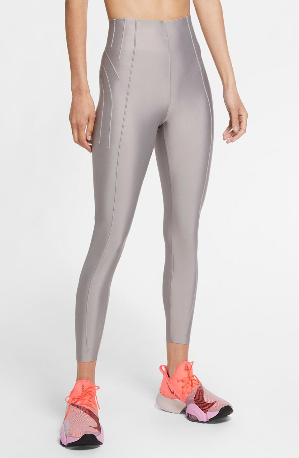<p>Get sweaty in these <span>Nike City Ready 7/8 Training Tights</span> ($72, originally $120).</p>