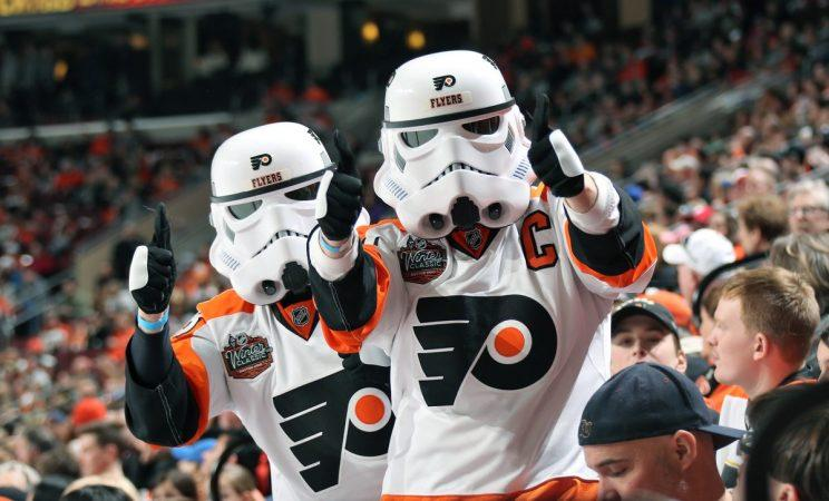 Photo tweeted by the Philadelphia Flyers.
