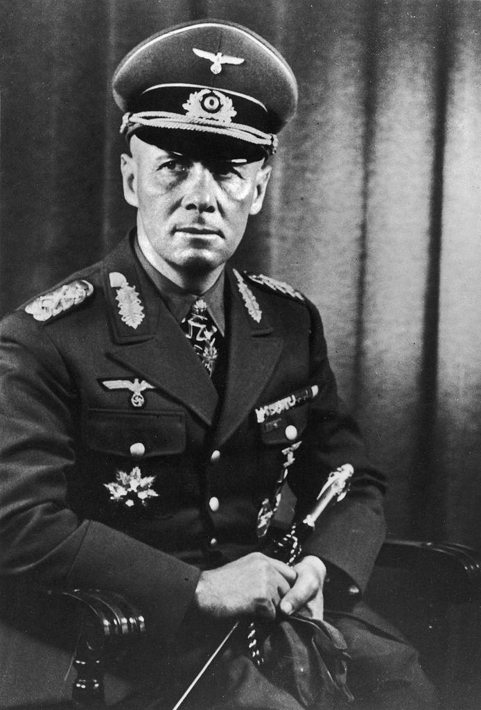 """A circa 1941 portrait of German General (and later Field Marshall) Erwin Rommel.<span class=""""copyright"""">einrich Hoffmann/The LIFE Picture Collection—Getty Image</span>"""