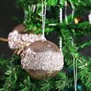 """<p>Add a touch of glamour to your tree with these glittery <span>ZHANYIGY 4"""" Christmas Ball Ornaments</span> ($14). </p>"""