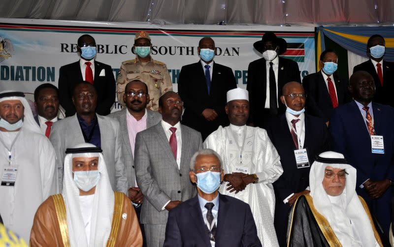 Sudan signs peace deal with key rebel groups, some hold out