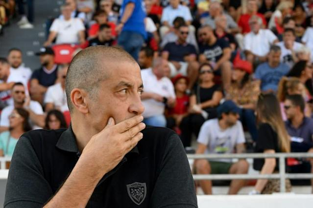 Toulon president Mourad Boudjellal is set to sell the club (AFP Photo/Christophe SIMON)