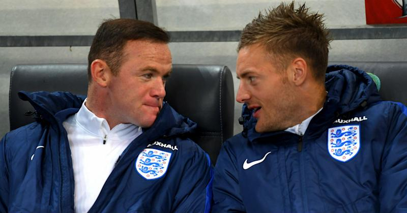 Jamie Vardy said to have blocked Wayne Rooney on Instagram