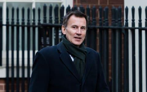 <span>Jeremy Hunt, the foreign secretary, has backed Mr Guaido</span>