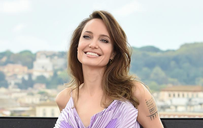 Angelina Jolie Looked Like A Real Life Butterfly At The