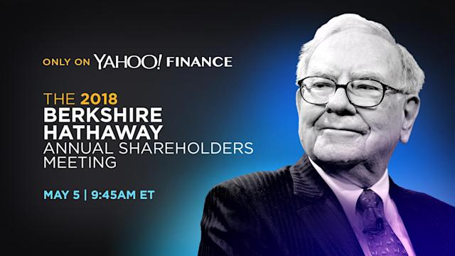 Berkshire Hathaway's annual meeting will be live-streamed exclusively on Yahoo Finance.