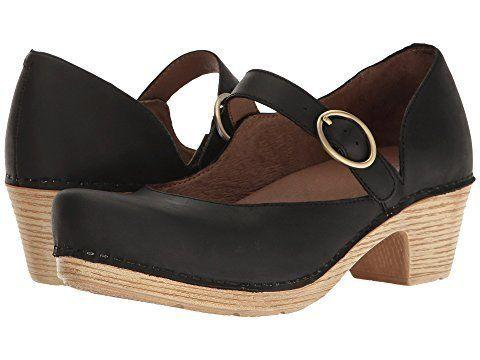 "Get it at <a href=""https://www.zappos.com/p/dansko-missy-black-veg/product/8904854/color/59083"" target=""_blank"">Zappos</a>, $145."