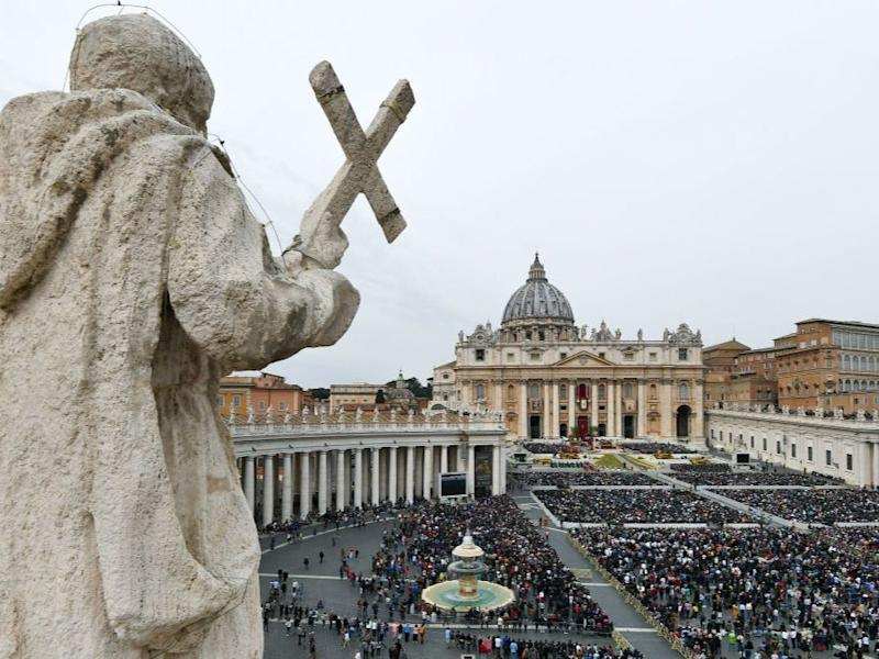 The Vatican has declared assisted suicide and euthanasia 'intrinsically evil' (AFP via Getty Images)