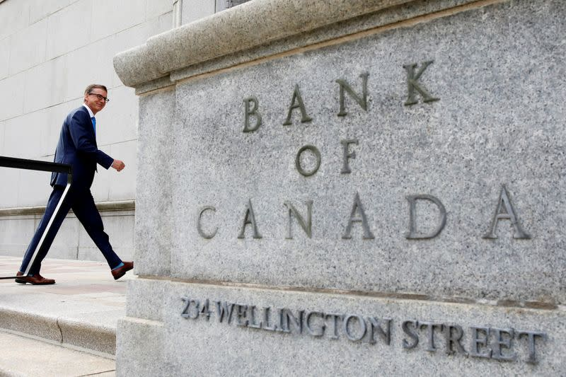 Bank of Canada head says too soon for exit from stimulus, will adjust QE as needed