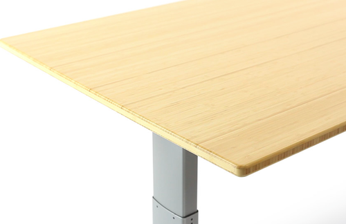NextDesk with bamboo finish
