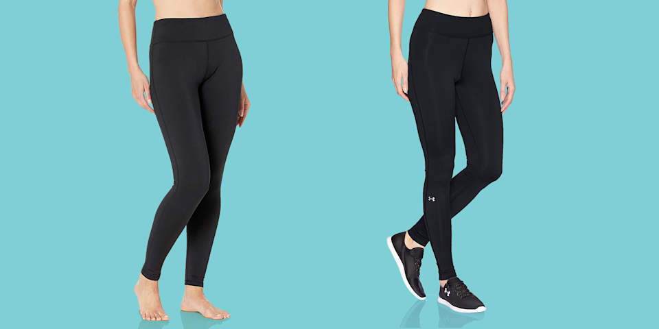 "<p>Winter might feel like the time to give up regular <a href=""https://www.goodhousekeeping.com/health-products/g4042/best-workout-leggings/"" rel=""nofollow noopener"" target=""_blank"" data-ylk=""slk:leggings"" class=""link rapid-noclick-resp"">leggings</a> and <a href=""https://www.goodhousekeeping.com/clothing/g936/best-tights/"" rel=""nofollow noopener"" target=""_blank"" data-ylk=""slk:tights"" class=""link rapid-noclick-resp"">tights</a>, but don't say goodbye to <em>all </em>leggings. Try <strong>fleece-lined leggings</strong> that keep you warm all season long. These leggings look like your typical workout pants, but have super soft fleece on the inside to provide extra insulation to keep you toasty in colder weather. </p><p>Fleece leggings are great for outdoor activities like hiking, skiing, or running; however, for indoor exercise during the winter, it's best to stick with your traditional leggings or <a href=""https://www.goodhousekeeping.com/clothing/g27258388/best-yoga-pants/"" rel=""nofollow noopener"" target=""_blank"" data-ylk=""slk:yoga pants"" class=""link rapid-noclick-resp"">yoga pants</a>. We love wearing them under skirts too, when tights just won't cut it. </p><h2>How to find the best fleece-lined leggings</h2><ul><li><strong>Make sure they're <em>actually</em> fleece lined.</strong> Many leggings designed for winter don't actually have fleece and are instead just thicker, but they won't be able to keep you as warm. If they're advertised as ""fleece lined"" or ""brushed interior,"" this means they'll be warmer because they'll trap heat.</li><li><strong>Try a moisture management test.</strong> If you want to check if your leggings are moisture wicking, you can do a simple at home test. Take a drop of water and place it on the inner fabric that would touch your skin. If the water droplet immediately spreads out, this means the water can more easily evaporate, keeping you dry. However, if the water beads, the fabric is not moisture wicking.</li><li><strong>Think about when you will wear them.</strong> We found the best styles of fleece-lined leggings for each different activity, as not every pair is perfect for every occasion. A super plush option is great for leisurely activities, but would not work for running outdoors. For activewear, check if your pair of fleece leggings feature a gusset crotch. This means there's a triangular piece of fabric sewn in the crotch that keeps the leggings from riding up or bunching.</li></ul><p>The <a href=""https://www.goodhousekeeping.com/institute/about-the-institute/a19748212/good-housekeeping-institute-product-reviews/"" rel=""nofollow noopener"" target=""_blank"" data-ylk=""slk:Good Housekeeping Institute"" class=""link rapid-noclick-resp"">Good Housekeeping Institute</a> Textiles Lab pros are experts in finding the best comfy leggings for every season. We have tested workout leggings in the lab, evaluating stretch recovery, moisture management, and washability. Then, our consumer testers wear them while exercising to give us feedback on comfort and appearance. </p><p>These leggings are from brands with previous top performing styles or have racked up tons of rave reviews. Shop these <strong>best fleece-lined leggings</strong> to stay warm during chilly temps outside.</p>"
