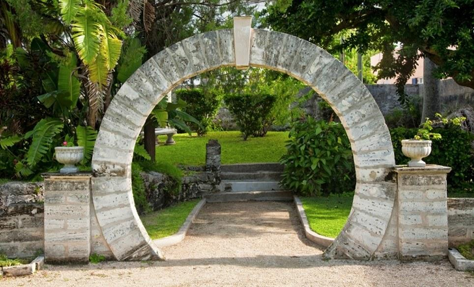 """<p>If you're heading to Bermuda, make sure you carve out time to visit the lucky Moon Gates, which is known to be good luck for all newlyweds who step through their gate. """"Inspired by the original Chinese designs, the structure was created in the 19th century and is a 'must do' for couples,"""" says Velez.</p>"""