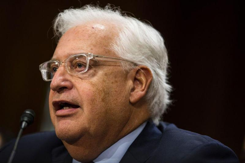 David Friedman has been confirmed as the ambassador to Israel: AFP/Getty