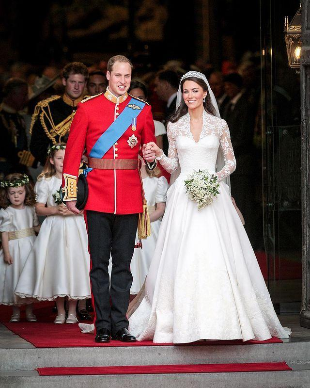 "<p>""🎊 Nine years ago today – thank you for all your lovely messages on The Duke and Duchess of Cambridge's wedding anniversary!""</p><p><a href=""https://www.instagram.com/p/B_jrQkllbKE/"" rel=""nofollow noopener"" target=""_blank"" data-ylk=""slk:See the original post on Instagram"" class=""link rapid-noclick-resp"">See the original post on Instagram</a></p>"
