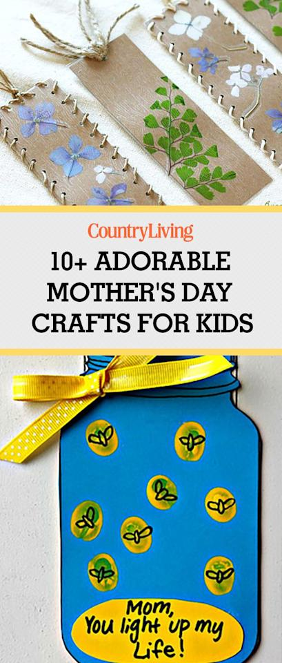 25 Adorable Mothers Day Crafts For Kids