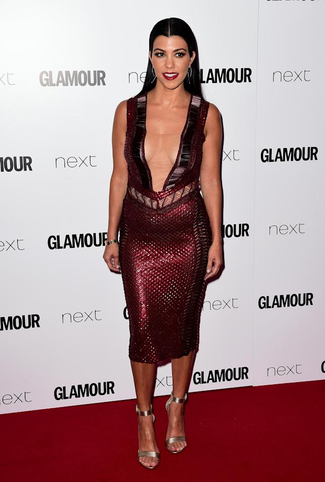 The <em>Keeping Up With the Kardashians</em> star is under fire for posing with StefanoGabbana, who called Selena Gomez ugly. (Photo: Getty Images)
