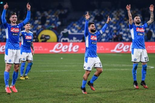Serie A runners-up Napoli move sixth into the Europa League places